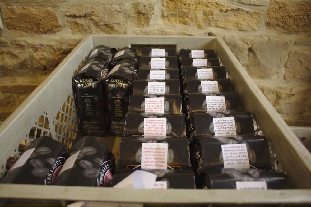 Paquets de café