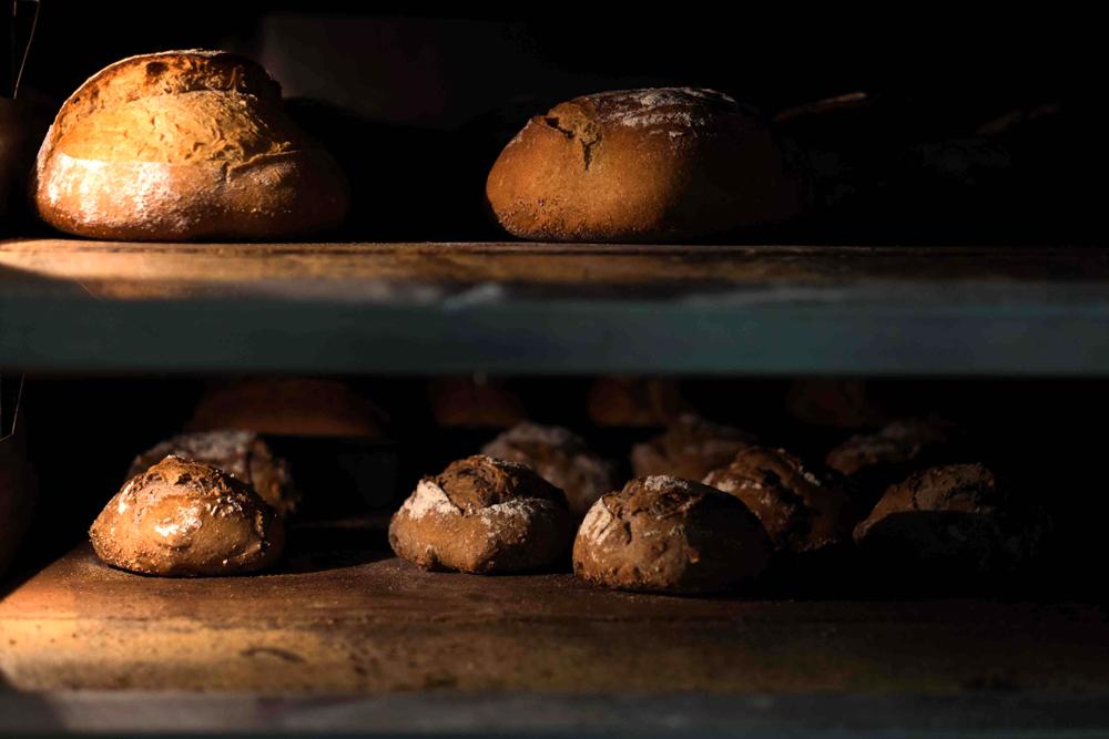 pains sur étagères