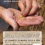 Projection du film «Farine, sel, eau et savoir-faire» le samedi 30 mars 2019 à Havelange